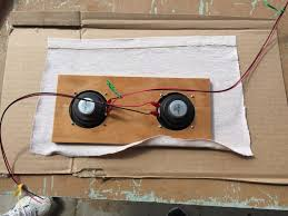 a diy amp and speaker i built to practice ering randizzy diy amp and speaker b board capacitor resistor