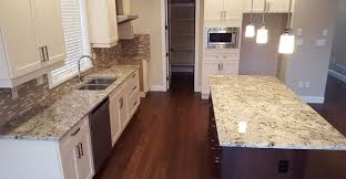white kitchen cabinets with granite countertops. White Kitchen Cabinet With Arctic Granite Countertops Cabinets I