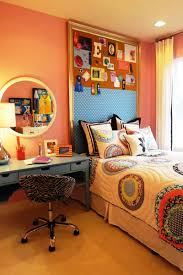 delightful image of teenage girl bedroom decoration using wall