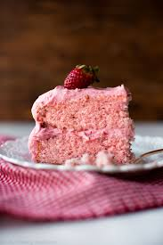 Homemade Strawberry Cake Sallys Baking Addiction