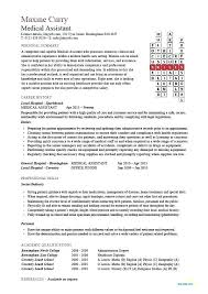 Example Of Resumes For Medical Assistants Medical Assistant Example Resume Medical Assistant Resume Example 2