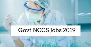 NCCS Recruitment 2019 -03 Technician 'B' Posts
