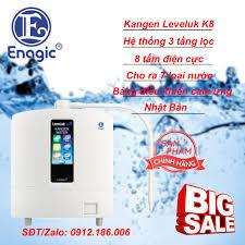 Máy Lọc Nước Kangen Leveluk K8 - Máy Điện Giải Cảm Ứng Mới Nhất Của Enagic  Nhật Bản - Hàng chính hãng mới 100% - Máy lọc nước