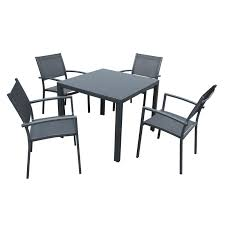 extra wide patio chairs unique mimosa 5 piece ascot aluminium setting bunnings warehouse