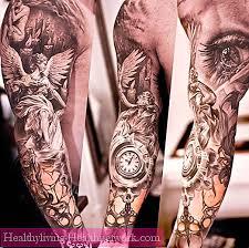 Moderní Tetování Pro Muže A Dívky Hodnota A Fotografie Péče O