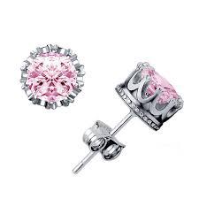 H:HYDE <b>Fashion Crown</b> Jewelry 6mm 2 Carat AAA Cubic Zirconia ...