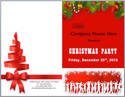 Free Christmas Party Invitation Templates Christmas Brochure Templates Free