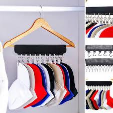 details about us cap rack closet hanger storage caps organizer door baseball hat holder