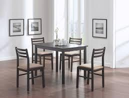 monarch specialties inc 5 piece dining set in cappuccino reviews wayfair