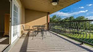 Still Water Ranch Condominiums: Covered Balcony off master bedroom