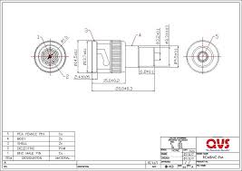 rca female connector diagram rca image wiring diagram qvs premium rca component cables and adaptors on rca female connector diagram
