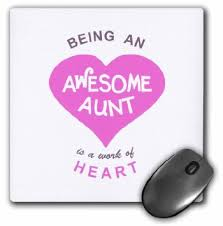 Quotes About Being An Aunt Delectable Buy 48dRose Being An Awesome Aunt Is A Work Of Heart Pink Family Love