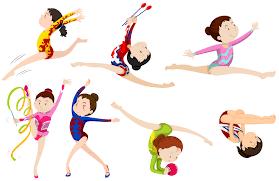 Diferentes tipos de ginástica 302971 - Download Vetores Gratis, Desenhos de  Vetor, Modelos e Clipart