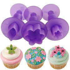 Mini Fondant Cut Outs Set Flower Leaf Wilton Cake