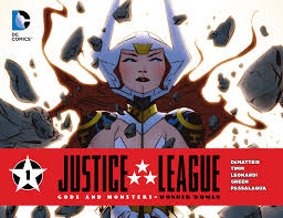 Image result for JLA GODS AND MONSTERS WONDER WOMAN #1 comic book 2015