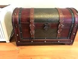 vintage storage chest vintage treasure box wood