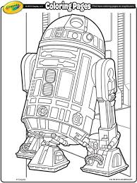 Small Picture Star Wars R2D2 Coloring Page crayolacom