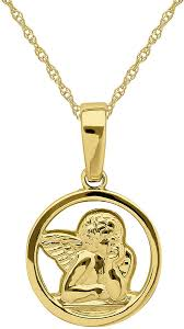 jcpenney fine jewelry infinite gold 14k yellow gold angel