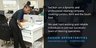 Cleaning Company Jobs Cleaning Jobs London Recruitment Opportunities Soclean