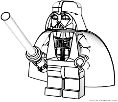 Lego Star Wars Darth Maul Coloring Pages Printable Destin S