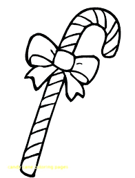 Candy Cane Coloring Pictures C Is For Candy Cane Coloring Page