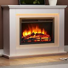 castleton electric fireplace suite