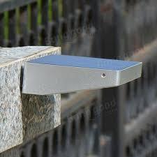 solar powered 48 led 4w pir motion sensor waterproof wall light outdoor garden pathway lamp