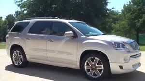 gmc acadia 2012 for sale. Exellent For HD VIDEO 2012 GMC ACADIA DENALI CUSTOM PAINT FOR SALE SEE WWW SUNSETMOTORS  COM Throughout Gmc Acadia For Sale