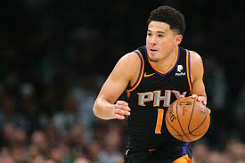 Look: Postgame Question To Devin Booker Goes Viral