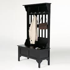 Metal Coat Rack With Shelf Black Modern Painted Entryway Bench Design With Metal Coat Hook In 100