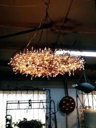 outdoor solar chandelier garden chandelier