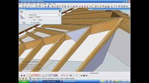 Hip Rafter Size Chart Uk Model And Measure Hip Rafters De Mystified By Measuring In Sketchup Wmv
