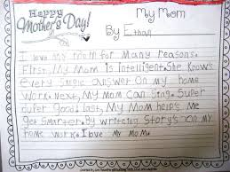 love my mother essay teaching love and laughter mother s day teaching love and laughter mother s day writing and two i conferenced each child while they