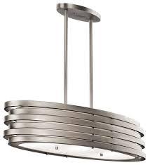 kichler 43303ni oval chandelier pendant 3lt