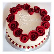 Buy Online Special Anniversary Cake Send India