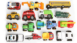 toy cars and trucks. Learning Vehicles Names And Sounds For Kids With Toys Cars Trucks | Truck - YouTube Toy O