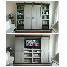 medium size of sliding barn door wall unit white tv stand hardware entertainment center
