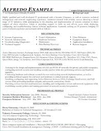 Exchange Administrator Sample Resume Best Combination Resume Examples From Pretty Functional Resume Example S