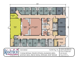 medical office layout floor plans. Ramtech Has Standard And Custom Floor Plan Designs That Can Be Used Or Modified For Developing Modular Clinics, Medical Offices, Other Healthcare Office Layout Plans I