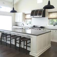 Grey Cabinets With White Countertops Black Kitchen Cabinets With