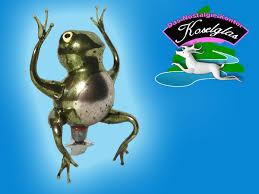 Koselglas Christbaumschmuck Froschkönig Am Zwicker