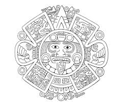 Small Picture Abstract Aztec Art Design Coloring Pages Womanmatecom