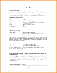 Resume Letter Fresh Graduate Brilliant Ideas Of Sample Job Best