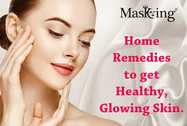 remes to get healthy glowing skin