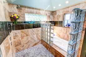 bathroom remodeling seattle. Bathroom, Remarkable Bathroom Remodel Seattle Home Style With Glass Stone Wall And Bath Tub Remodeling