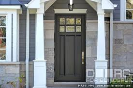 wood exterior doors with glass elegant classic collection 3 panel for wooden front idea 13