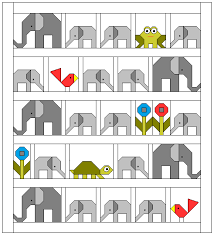 Sew Fresh Quilts: Elephant Parade & It is not necessary to purchase the pattern in order to participate. But if  you are wanting to make the complete quilt, as pictured below, and would  prefer ... Adamdwight.com