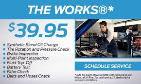 ford works parts and sevice coupons watchung nj liccardi ford inc