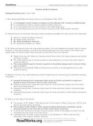 Readworks answers pdf / readworks answer key 5th gradeall games. Teacher Guide Answers Passage Reading Level 1 A B C D 2 Based On The Text Why Might Predicting Pdf Document
