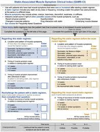 statin ociated myalgiauscle